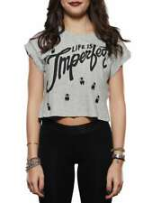 IMPERFECT IW16S22TG GRIGIO t-shirt donna
