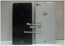 Battery Back Door Glass Panel Cover Housing For Micromax Canvas Silver 5 Q450