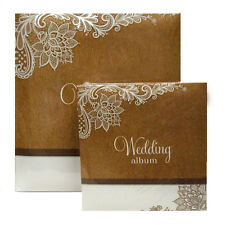 """Walther 'Elemental' Wedding Album - 6""""x 4"""", 7""""x 5"""" or Traditional Pages"""