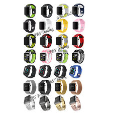 New Replacement Stainless Steel Band Strap Clasp for Apple Watch 42mm/38 iWatch