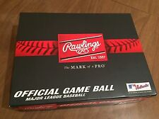 1 Dozen 12 Rawlings Official Leather Major League Baseball MLB ROMLB MANFRED B