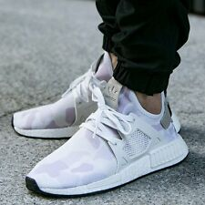 "adidas NMD XR1 Duck Camo ""White"" White - Core Black All Sizes BA7233"