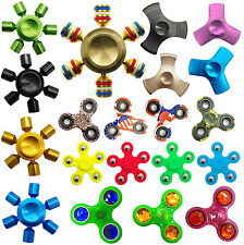 Fidget Spinner Bearing Stress Tri Hand Finger EDC Focus Stress Relief Fun Toy UK