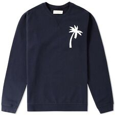 Universal Works - Embroidered Rglan Loopback Sweat in Navy