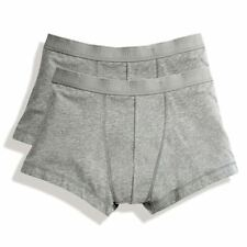 Uomo Fruit of the Loom Shorty Classico Biancheria Intima Boxer Boxer 2 Pack