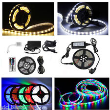 5m-30m Set SMD 5630 5050 3528 LED Strip Streifen Band Leiste Stripe Lichterkette