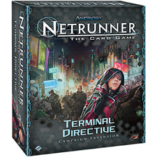 Android Netrunner The Card Game Terminal Directive Campaign Expansion New TCG
