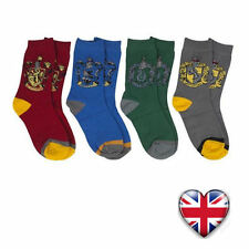 Harry Potter Socks Gryffindor Slytherin Hufflepuff Ravenclaw Kids Gift UK Stock
