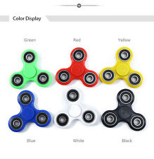 HAND SPINNER TRI FIDGET CERAMIC BALL DESK TOY EDC STOCKING STUFFER KIDS OR ADULT