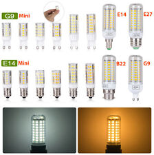 E27 E14 B22 G9 LED Maïs Ampoule 3W6W9W12W15W5730 SMD Blanc Chaud/Froid  Lamp220V