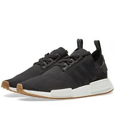 Adidas NMD R1 PK Gum Pack Core Black Primeknit Boost All Sizes Limited Edition