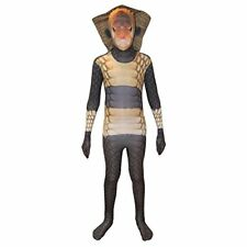 Morphsuits Costume Carnevale Halloween Tuta ufficiale Morphsuit serpente (o5g)