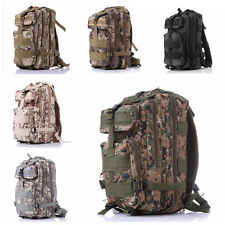 25L-30L  Army Molle 3 Day Pack 3P Assault Tactical Military Camping Backpack Bag