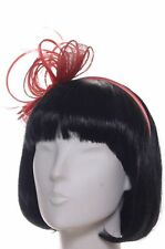 Seeberger Sinamay/Satinreif copper Fascinator Haarreif