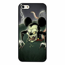 Dark Disney Zombie Mickey Mouse PHONE CASE COVER fits iPHONE 4 5 6 7+