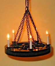 1:12 Scale Heidi Ott 5 Candle Cartwheel Tudor Light