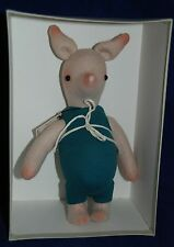 Vintage R. John Wright: Winnie-the-Pooh Life-size Piglet Plush Limited Edition