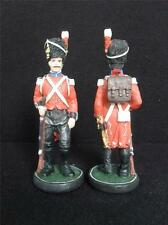 Hand painted Battle of Waterloo Spare Chess Piece Pawn 10.5cm *Used*