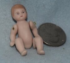 Bye Lo Baby Doll, Porcelain-Dollhouse Miniature