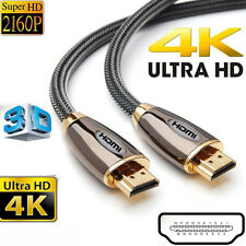 Premium HDMI Cable High Speed 3D 4K Ultra HD 2160p Video Lead 1M 1.5M 2M 3M
