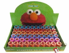 6x-60x New Sesame Street Elmo Self-Inking Stamps Birthday Party Favors Gift Bags