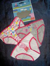 3 PAIRS PRETTY PEPPA PIG PANTS IN BOX  -AGES 2/3 - 4/5 - 6/8 YEARS