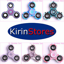 3D mano a dito Fidget Spinner Focus Stress Reliever Giocattolo Bambini Adulti