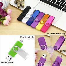 2 in 1 OTG i-Flash Key Drive Thumb Stick Pen Device  USB 2.0 512 256 128 64GB UK