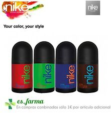 NIKE DESODORANTE HOMBRE DEO ROLLON MAN 50 ML RED INDIGO GREEN BROWN COLORS