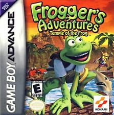 Frogger's Adventures Temple of the Frog Gameboy Advance Cart Only