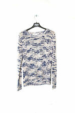 YESSICA Pull grosse maille Chiné bleu ou rose Taille S 36 femme