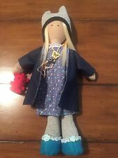Beautiful Handmade cloth doll - NEW! One of a kind! EXCLUSIVE!