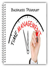 NEW A5 STANDARD BUSINESS DAILY PLANNER, JOBS TO DO, SCHEDULE, TIME MANAGEMENT