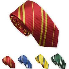 Potter school style mens boys house tie fancy dress party accessory Gryffindor