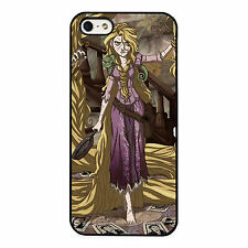 Rapunzel Tangled Horror Dark Disney PHONE CASE COVER fits iPHONE 4 5 6 7+