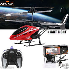 RC HX713 2.5CH Helicopter Radio Remote Control Night Light Aircraft Toy Gift UK