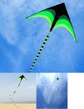Outdoor Flying Kite For Kids Adults Single Line Triangle Kite Toy Long Ribbon