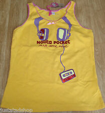 Nolita Pocket girl Angela vest top t-shirt 12-13-14 y BNWT designer headphones