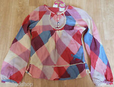 Nolita Pocket girl  top blouse shirt  3-4 y  BNWT designer red check