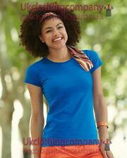 Fruit of the Loom Lady-Fit sofspun Camiseta - Mujer Top Manga Corta XS a 2xl
