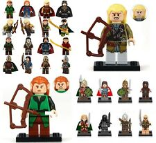 Mini Figure NEW UK Seller Fits Lego The Lord of the Rings Hobbit Tauriel Legolas