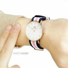 Daniel Wellington Winchester and Southampton Silver/Rose Gold Ladies 36mm Watch