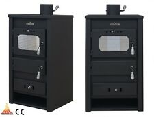 Wood Burning Stove 10kW Solid Fuel Dry / Boiler Option Central Heating Wood/Coal