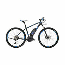 Mountain Bike Elettrica E-SESTRIERE 29 Performance Nero Blu Lombardo Bikes 2017