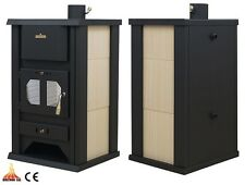 Wood Burning Stove  Dry/Boiler Option Central Heating 16 kW Solid Fuel Wood/Coal
