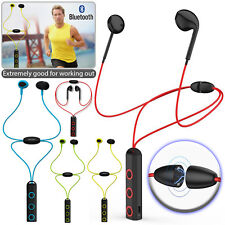 Wireless Bluetooth 4.1 Magnetic Sports Earphone Headset In-Ear Stereo Headphones
