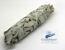 "White Sage Californian Sage Smudge Stick 4.5"" Smudging Wicca Cleansing Healing"
