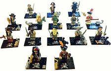 Pirates Of The Caribbean Mini Figures -FIXED PRICE!!!  Lego Fit