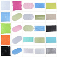 Strong Non Slip Shower Bath Mat Bathroom Safety Rubber Suction Cups Massage Pad