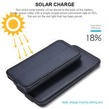Für iPhone 6 6s Plus 7 7 Plus Solar Power Battery Charger Case Cover Power Bank